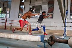 Entrenamiento de Boxeo (Santiago de Cuba)