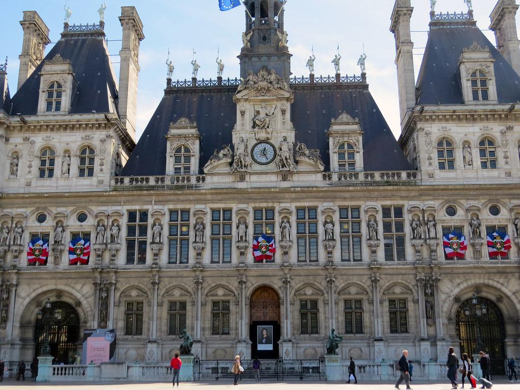 Мэрия Парижа - Отель-де-Виль
