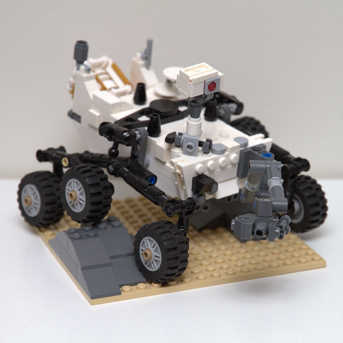 LEGO 21104 NASA Mars Science Laboratory Curiosity Rover