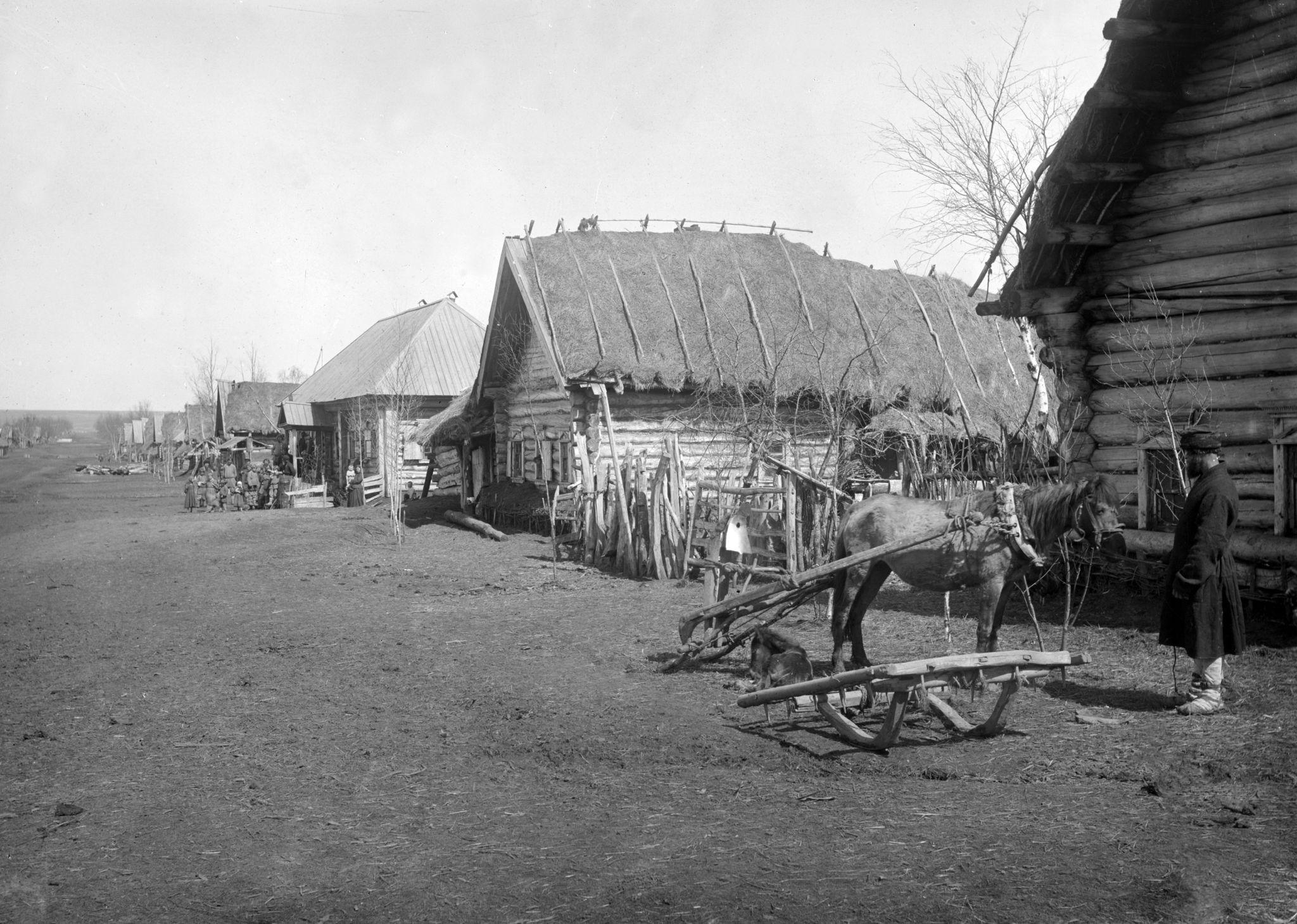 Неурожайный год в Нижегородской губернии. 1891-92