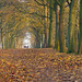 Temple Newsam Autumn Panorama by Yorkshire Pics