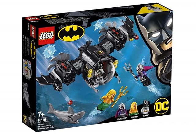 「海洋領主」人偶超帥氣!! LEGO 76116 DC Super Heroes 系列【蝙蝠俠潛艇與水下大戰】Batman Batsub and the Underwater Clash 情報公開!