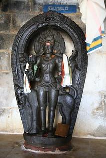 In the praharam - Sri Bairavar (2)
