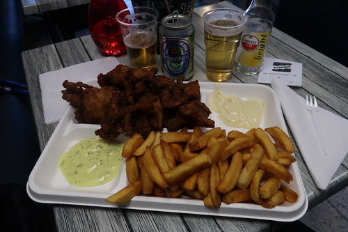 Schotel Kibbeling met frietjes