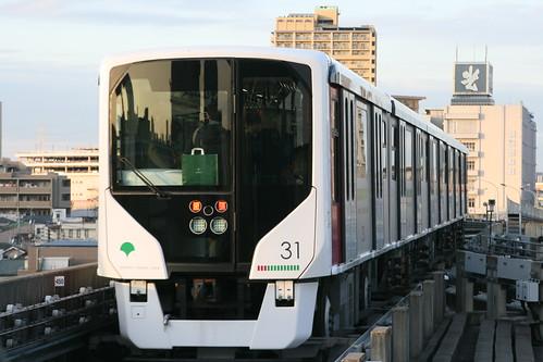 Toei 330 series in Kumanomae.Sta, Arakawa, Tokyo, Japan /November 24, 2018