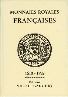 Monnaies Royales Françaises 40th ed cover