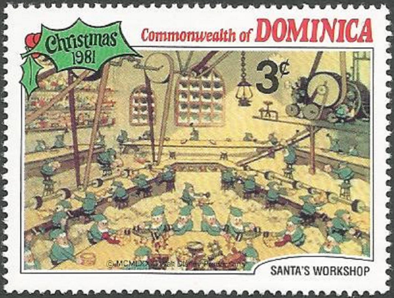Dominica - Scott #709 (1981)