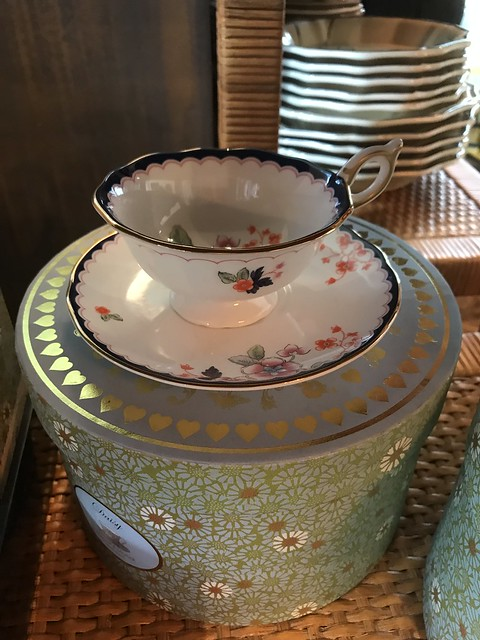Wedgwood tea cup and saucer