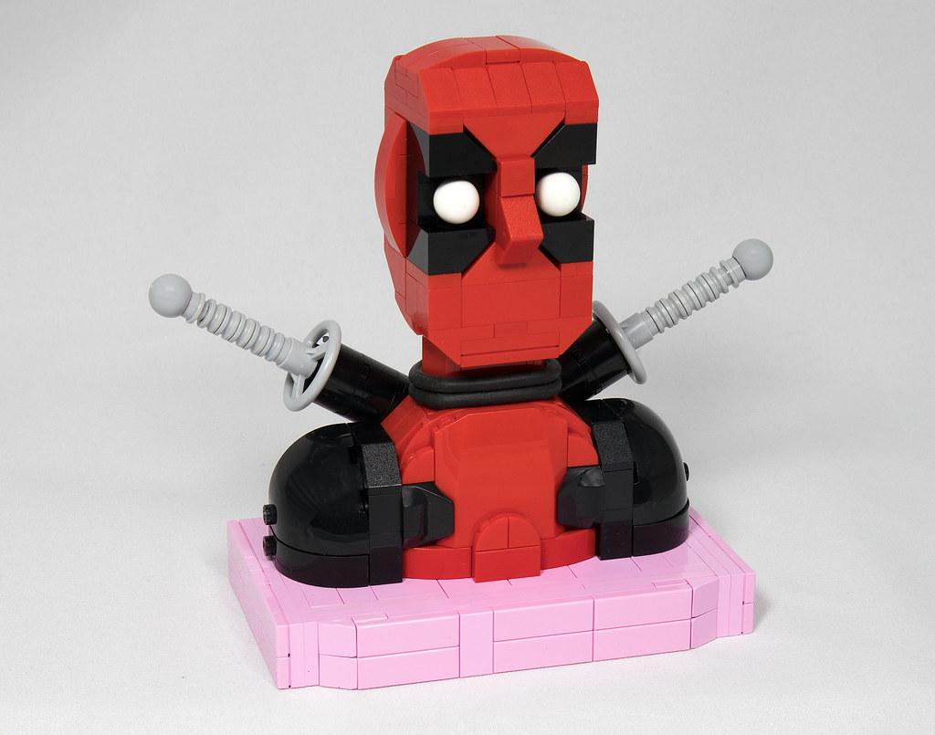 LEGO® MOC by Vitreolum: Deadpool Bust