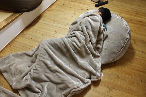 ベルメゾン なめらかな肌触りのふわふわうたた寝クッション