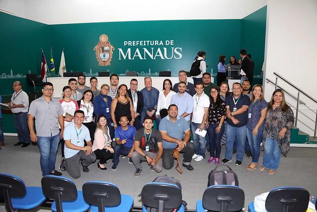 08.02.2019 Prefeitura de Manaus, inicia projeto 'Jovem Empreendedor' para 400 participantes