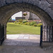 t. Stirling Castle garden entrance. cbr1