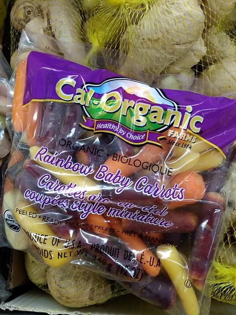 Rainbow Baby Carrots $0.79