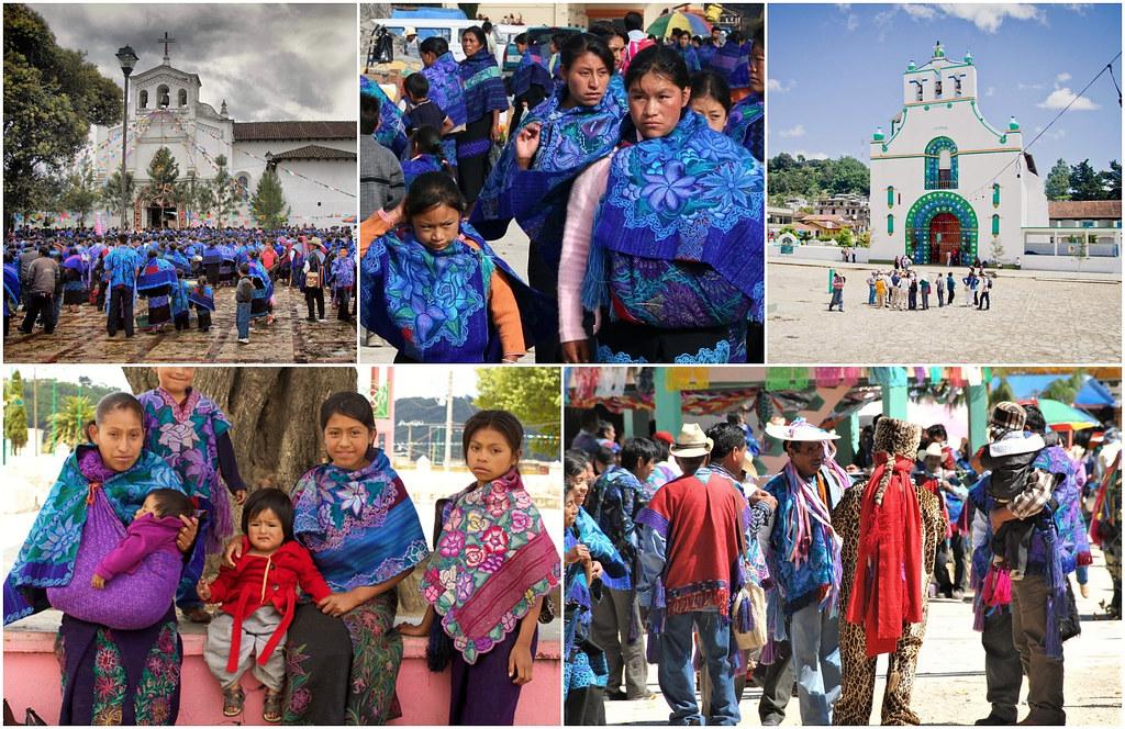 Zinacatan i San Juan Chamula2 Meksyk
