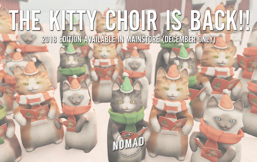 NOMAD // Kitty Choir 2018