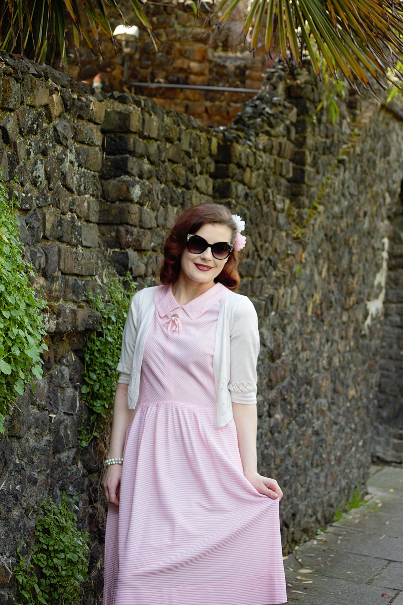 Pink 1950s Dress