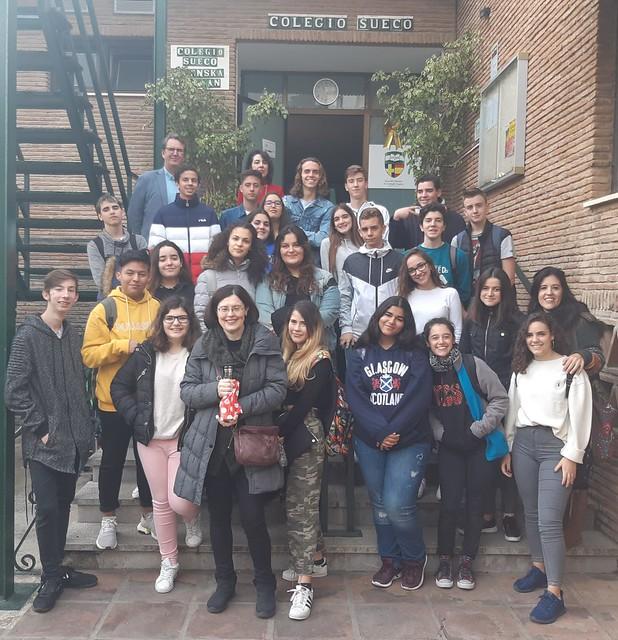 Visita al Colegio Sueco de Fuengirola