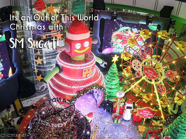 SM City Sucat Takes us to an Out of this World Christmas this 2018!