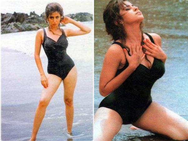 Bikini Evolution – Bollywood actress in Bikini or Swimwear - fashionflavours.com 1990s (8)