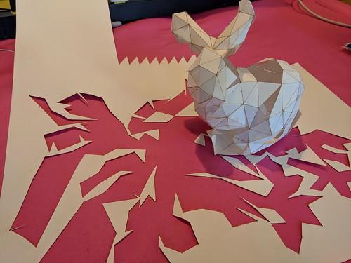 Unfolded bunny