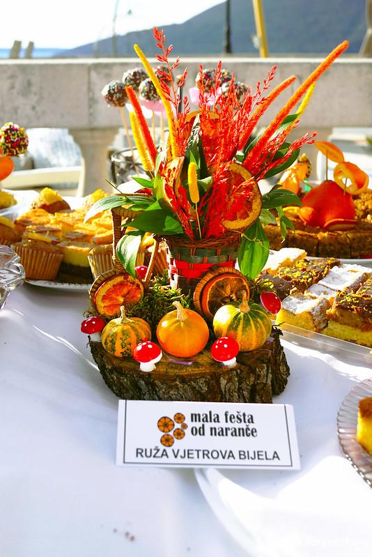 Украшения и угощения 5 Фестиваля апельсинов