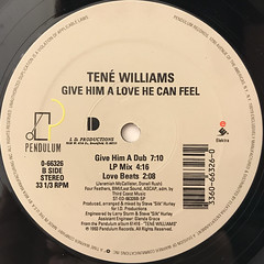 TENE WILLIAMS:GIVE HIM A LOVE HE CAN FEEL(LABEL SIDE-B)