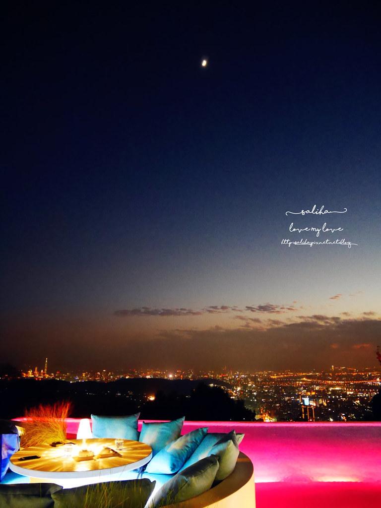 台北陽明山必吃美食夜景景觀餐廳THETOP屋頂上浪漫情人節聖誕節推薦 (3)