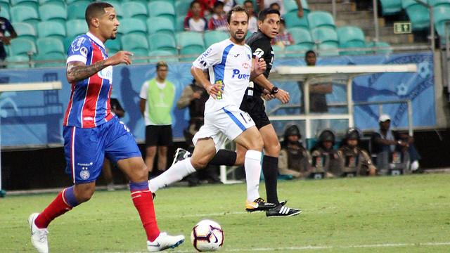 Bahia 0 X 1 Liverpool (Uru). Fotos: Gabriela Simões