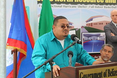 Victor Alegria, Director of Sustainable Development, Ministry of Agriculture, Fisheries, Forestry, Environment and Sustainable Development, for the Government of Belize