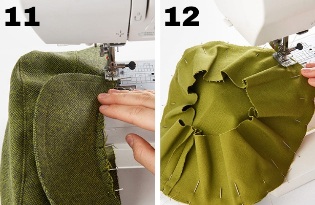 DIY Captains Hat Steps 11 12