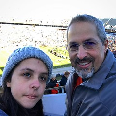 Me and my Hannah @h_forehand cheering for the Hoos! Go UVA! #uva