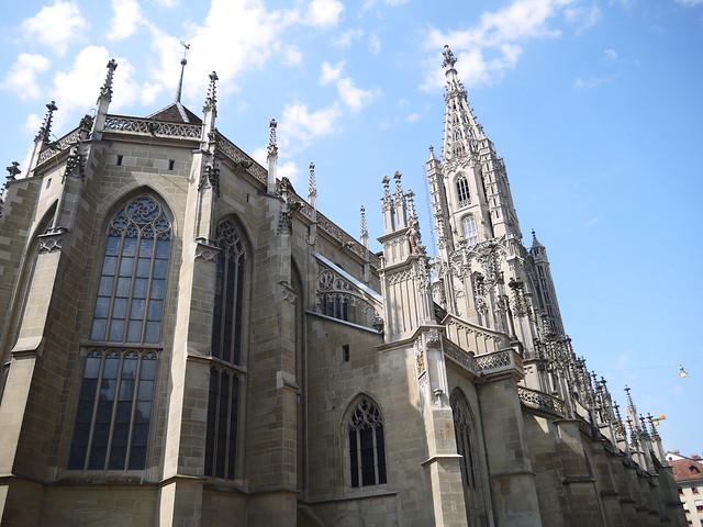 19-遊客可以登上教堂頂端欣賞伯恩市景