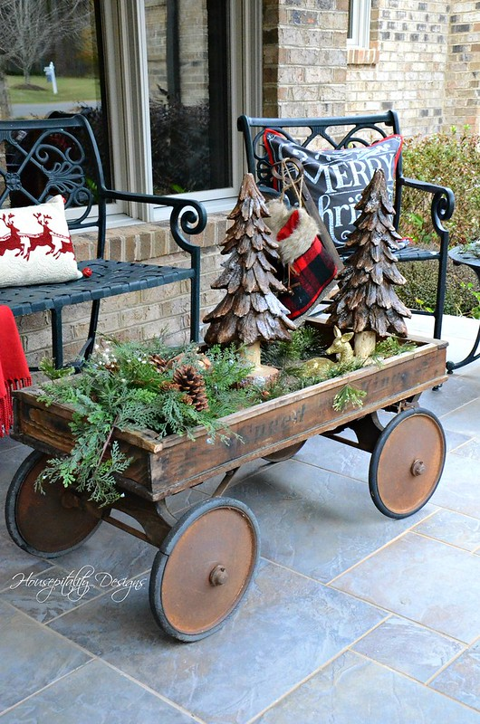 Christmas Wagon-Housepitality Designs