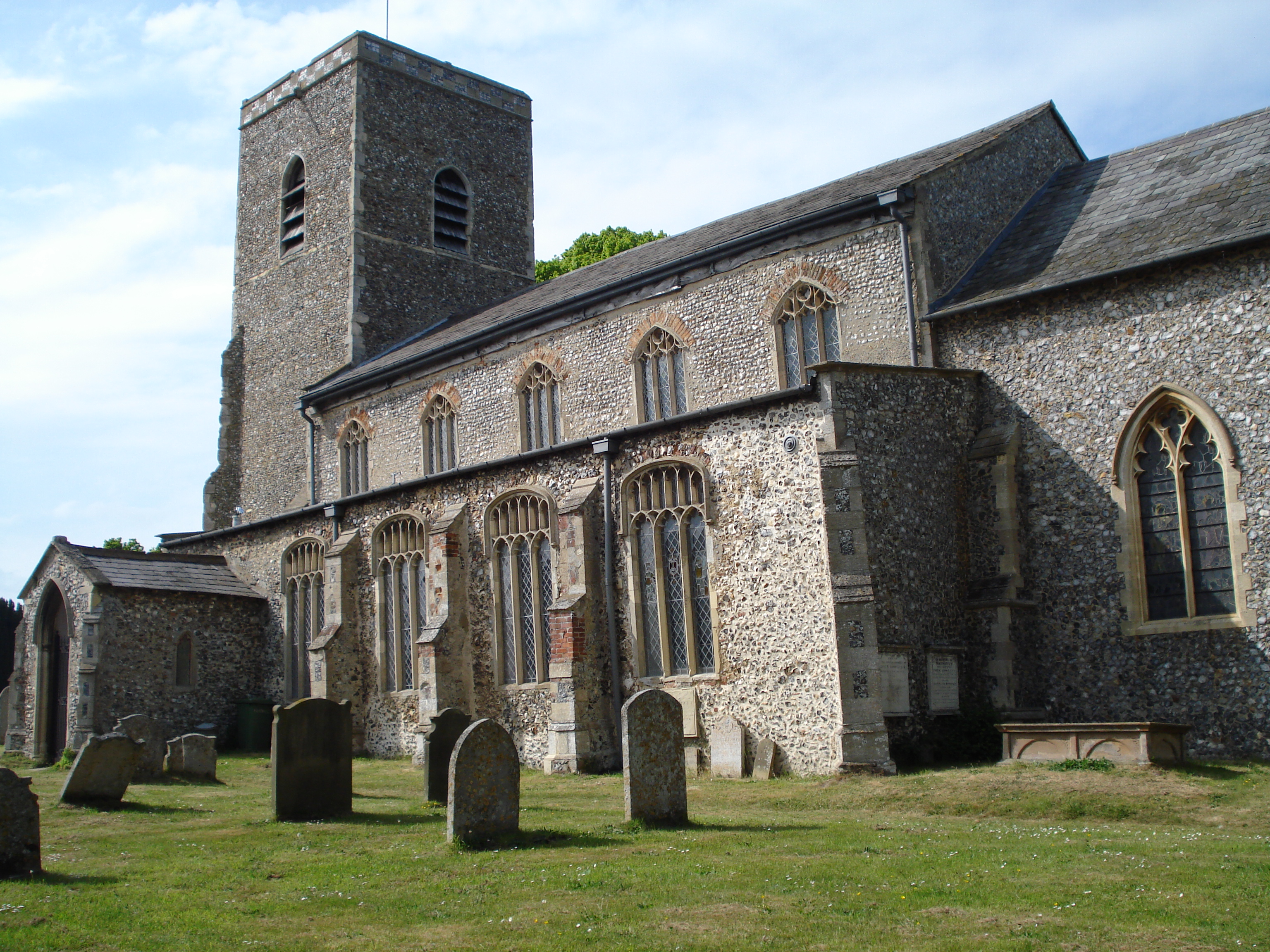 All Saints, Marsham, Norfolk