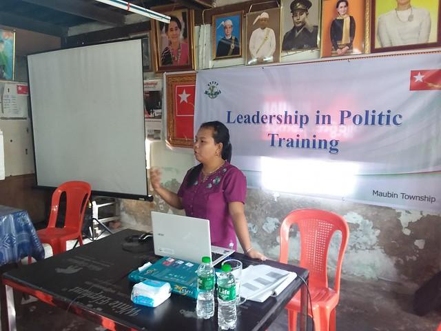 Conducting Leadership in Politics Training
