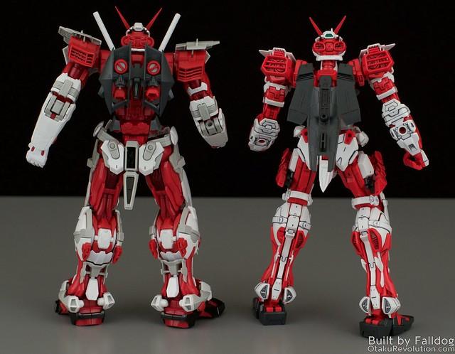 HiRM Astray Red Frame Gundam 17