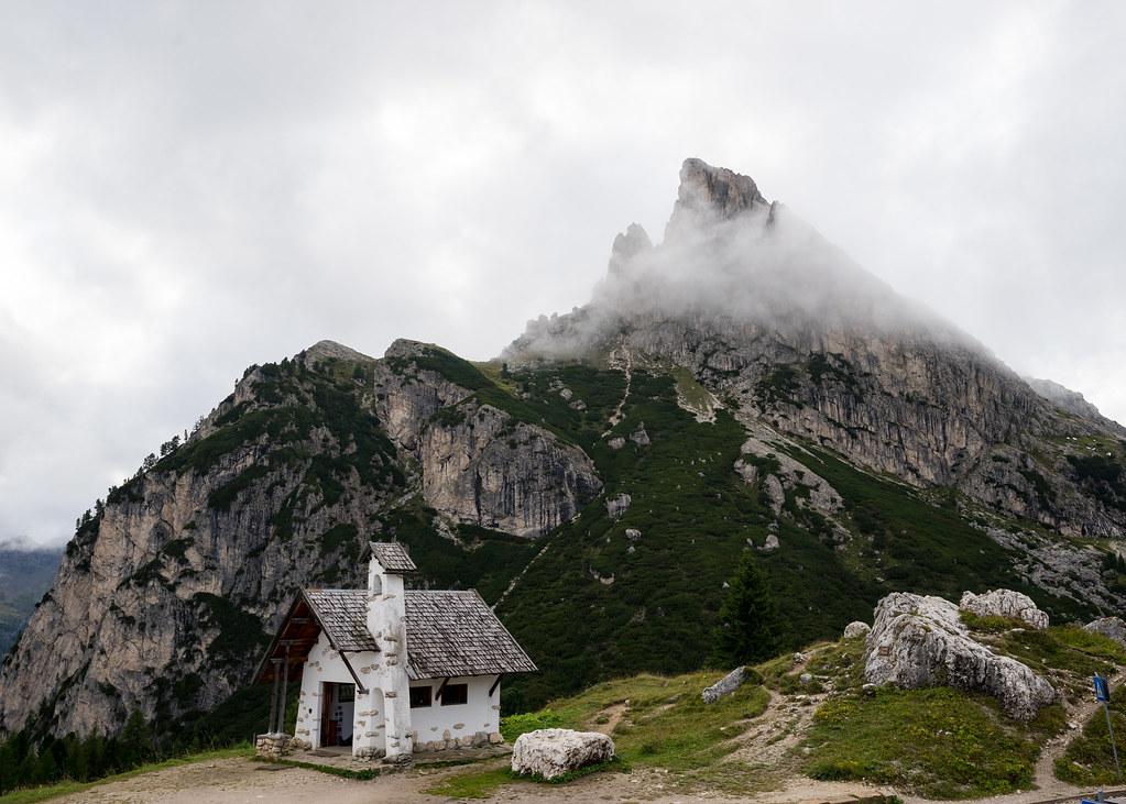 Sass de Stria from Passo Falzarego