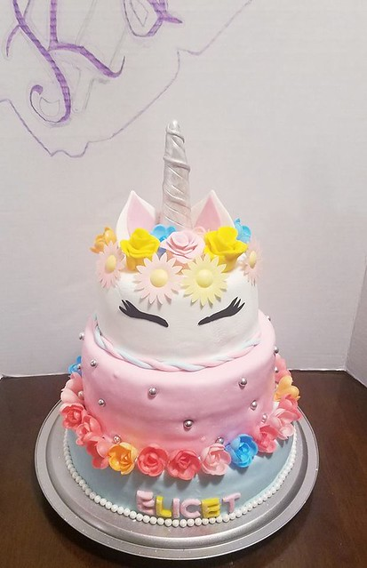 Unicorn Cake by K&K Cakes