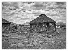 Traditional village in Lesotho