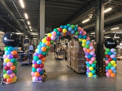 Ballonboog 6m Hoofdkantoor Nelson Schoenen Hoofddorp