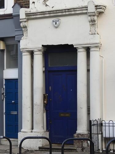 Londra - Notting Hill - La porta blu