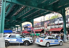 I was in #theBronx to see the #yankees play  and I walked around the area before the game.
