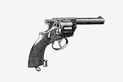 Vintage gun illustration