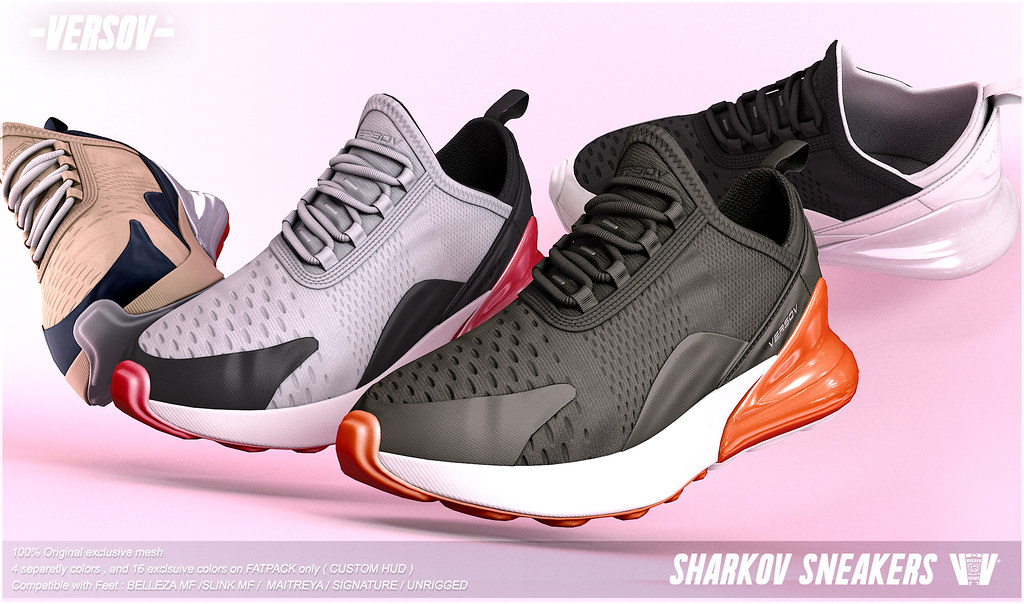 [ Versov // ] SHARKOV sneakers available at TMD