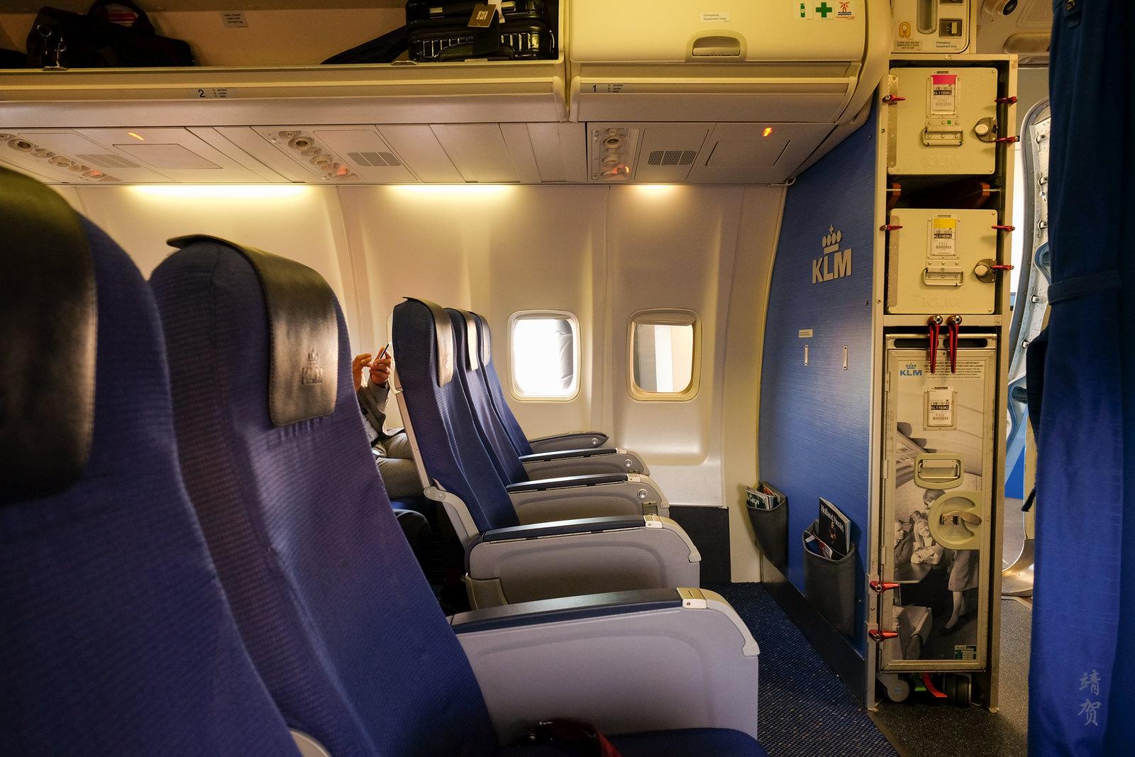 Inside KLM's 737