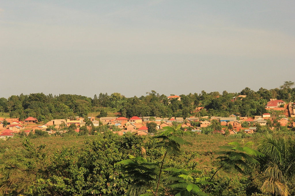 Views from Red Chilli Hideaway, Kampala