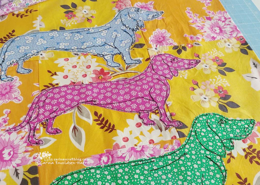 Sausage Dog Cushion Cover