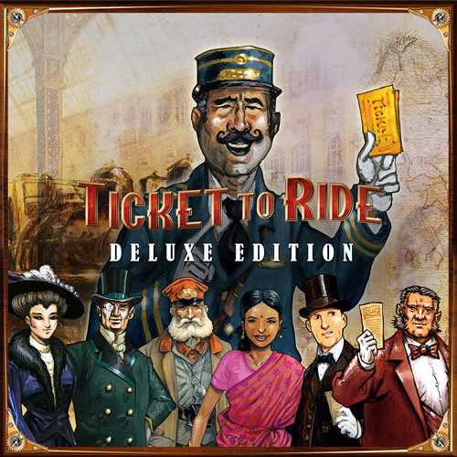 Ticket To Ride Deluxe Edition