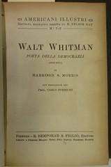 Penn Libraries 811W YMo.2 Whitman copy: Title page