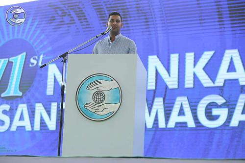 English speech by Nitin Malhotra, New York, USA